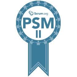 Professional Scrum Master 2 Zertifikat (PSM2)