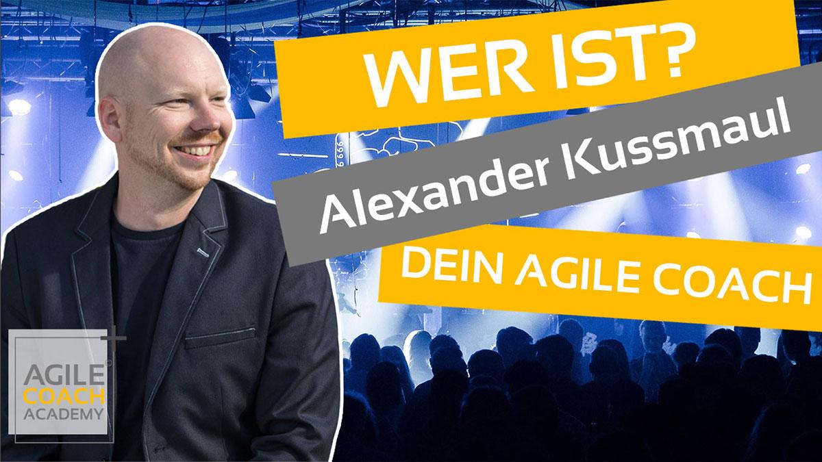 Agile Coach Academy Gründer Alexander Kussmaul